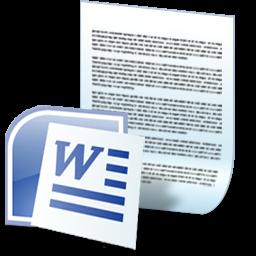 Microsoft Word documents