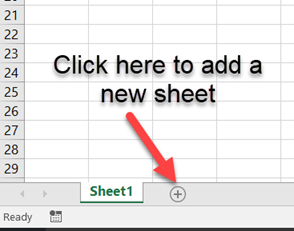 Working with Sheets