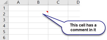 Comments in Excel